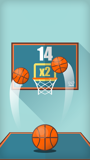 Basketball FRVR - Shoot the Hoop and Slam Dunk!  screenshots 1