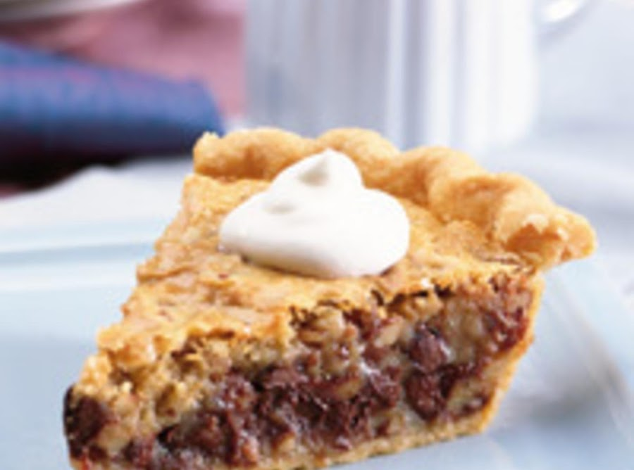 Nestle Toll House Chocolate Chip Pie Recipe | Just A Pinch