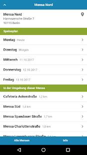 Mensa Berlin - náhled