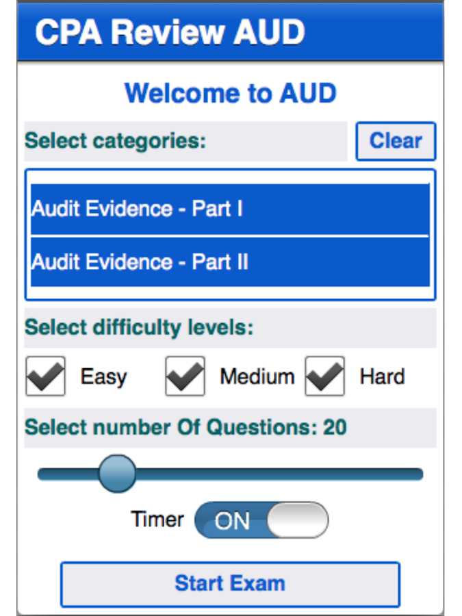 CPA Review - AUD- screenshot