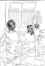 Photo: 全球化下的藝術家與勞動者藝術講座 2012.05.26鋼筆 侯淑姿老師講述與外配家庭接觸之影像紀錄