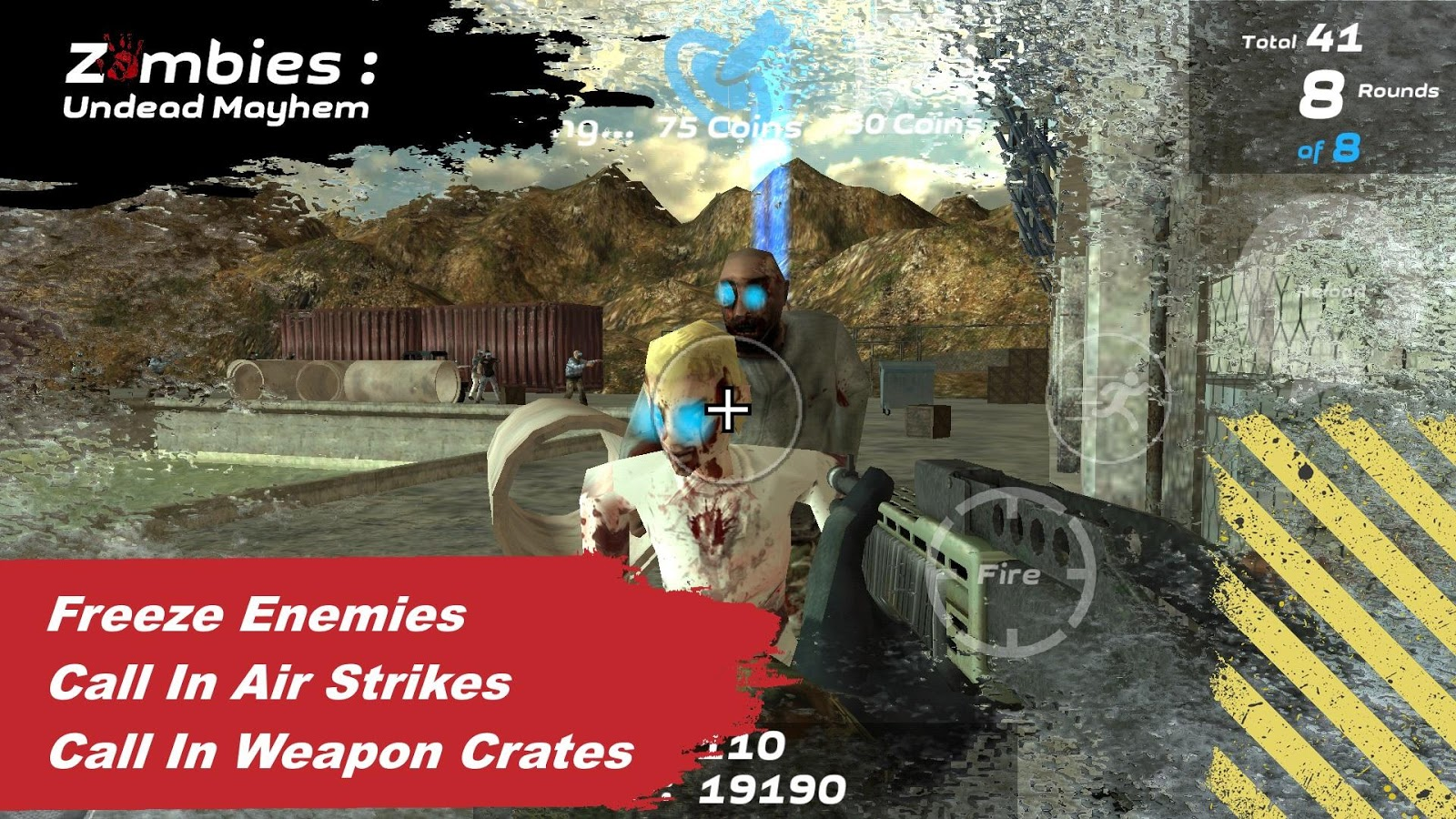 Zombies: Undead Mayhem Free- screenshot