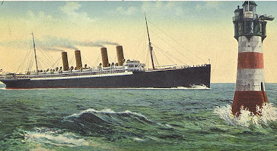 SS Kronprinz Wilhelm postcard c.1901