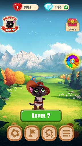 Fruity Cat -  bubble shooter! modavailable screenshots 8