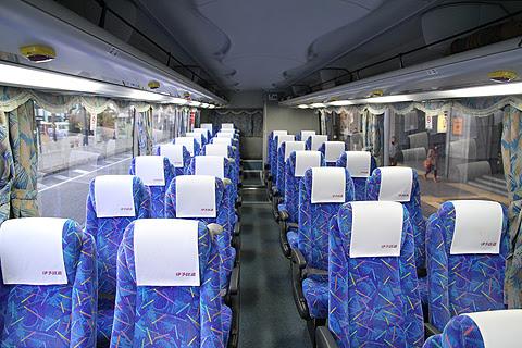 伊予鉄バス 八幡浜・三崎特急線 5251 松山市駅にて