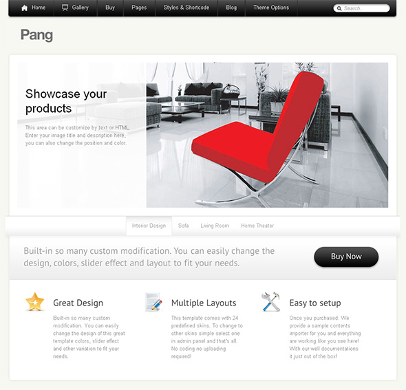 Pang Professional WordPress Theme