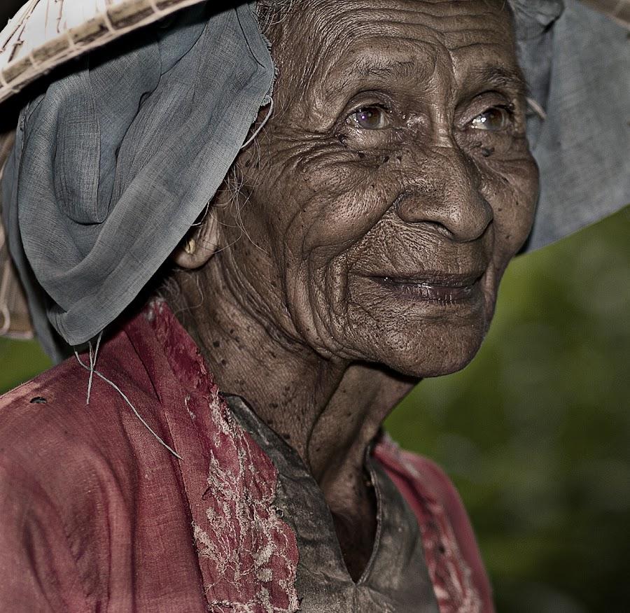 older is art by Mohd Helmie Wahab - People Portraits of Women