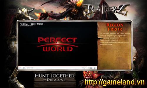 RaiderZ lộ diện trang teaser khu vực Bắc Mỹ 2