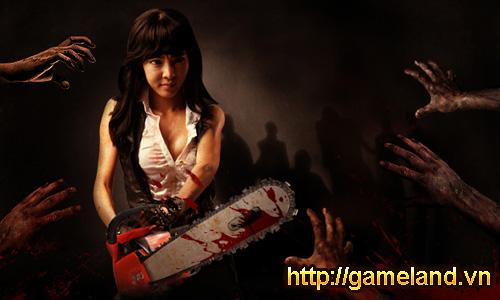 Zombie Girl quay phim hướng dẫn người chơi mới 4