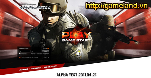 Special Force 2 sẵn sàng cho thử nghiệm Alpha Test 2