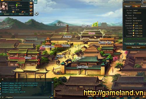 Webgame Vương Triều Chiến chuẩn bị cập bến Việt Nam 3