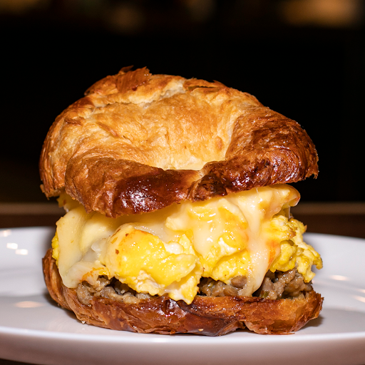 Sausage Egg & Cheese on a Croissant
