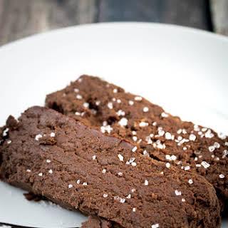 Salted Chocolate Terrine.