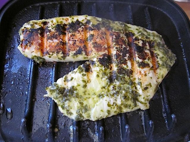 grilled lemon garlic fish