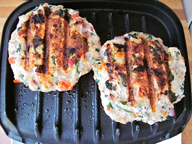 cook turkey burgers