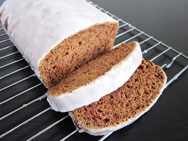 glazed lemon spice cake