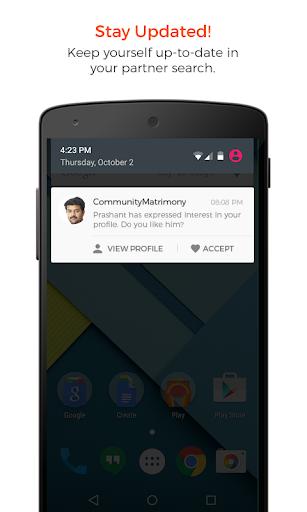 Viswabrahmin Matrimony App - TeluguMatrimony Group 4.9 screenshots 1