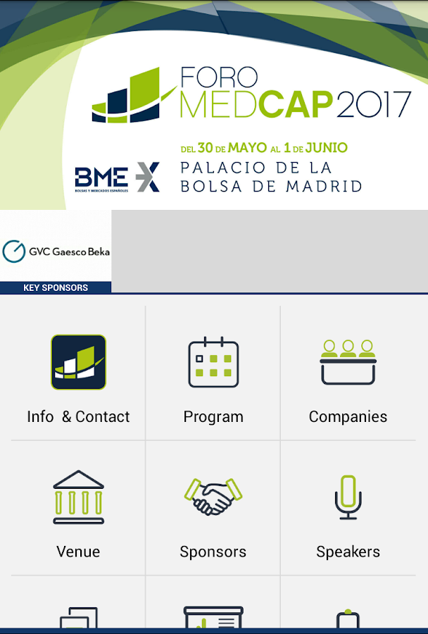 MEDCAP FORUM 2017- screenshot