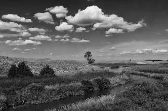 Photo: Calamas River - Honorable Mention - B&W 'Why You Should Tour Nebraska'