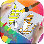 Coloring Book for PokeMonster Icon