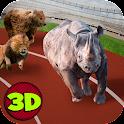Wild Animal Racing Fever 3D icon