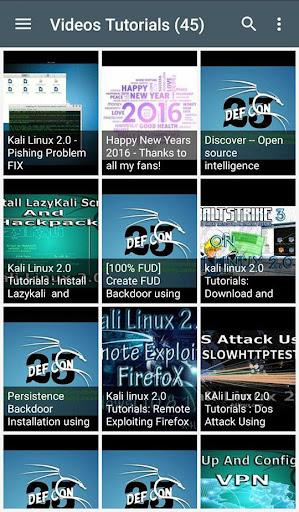 Kali Linux 2.0 Tutorials