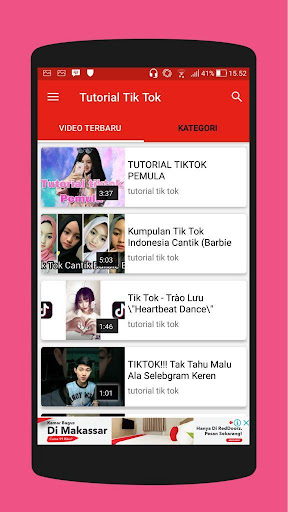 Tutorial Tik Tok 2018 - Video 3.0.0 screenshots 1