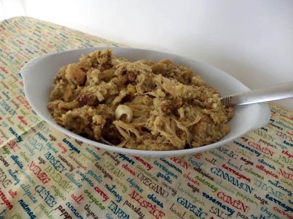 Old Time Chicken N Dressing - Crock Pot Style