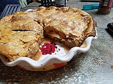 LOWER CARB SUGAR FREE APPLE PIE