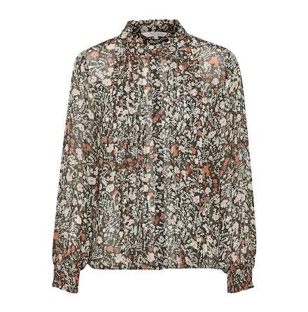 Part Two Esin blouse flower print dark green