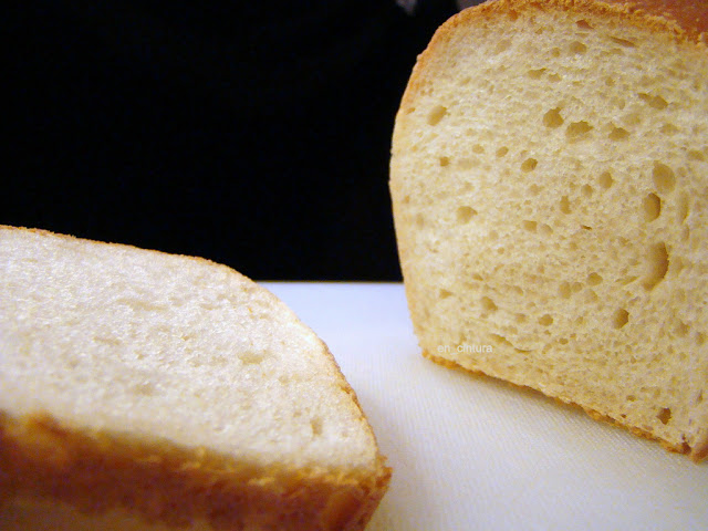 Pan de molde casi sin amasar