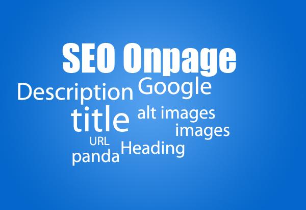 Onpage chuẩn giúp website của bạn khỏe hơn