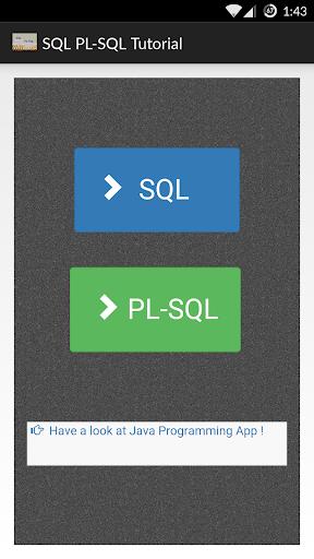 SQL and PL-SQL Tutorial