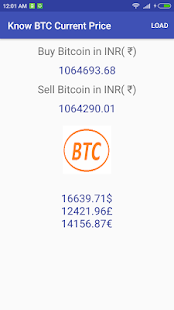 Know BTC Current Price - náhled