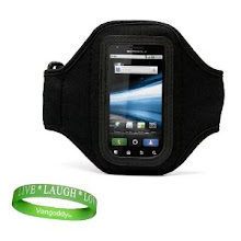 Photo: Do you have a healthy lifestyle person in your world? This arm band makes working out on the go a breeze with you phone still available.