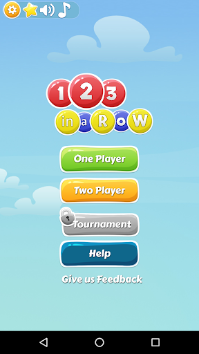 2 Player Games: 123 in a row