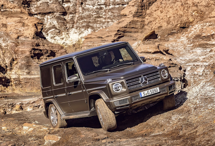 Real enthusiasts will spot the differences immediately but Mercedes has kept the traditional G-Class look. Picture: MERCEDES-BENZ