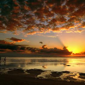 RUN by Frans Widi - Landscapes Sunsets & Sunrises ( pwcsunbeams )