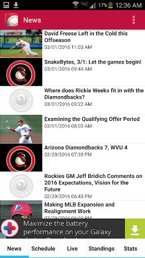 Arizona Baseball Diamondbacks Edition  screenshots 1