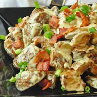 Creamy Parmesan Bacon Potatoes