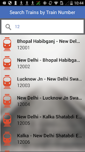 Trvlr - IRCTC Running Schedule- screenshot thumbnail