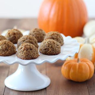 Pumpkin Spiced Coconut Macaroons