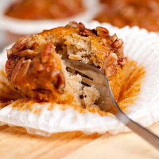 Southern Pecan Pie Muffins.