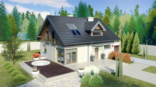 projekt Dom przy Alabastrowej 5