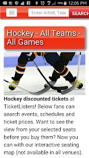 Event Tickets by TicketListers- screenshot thumbnail