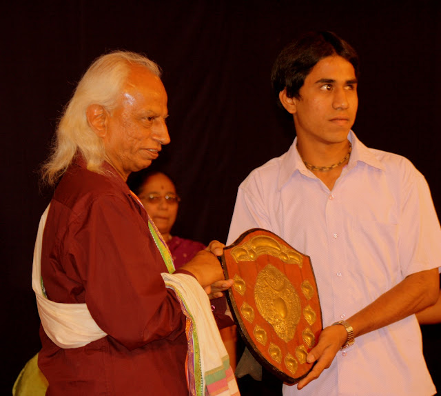 Performance award by Srinivas Sir