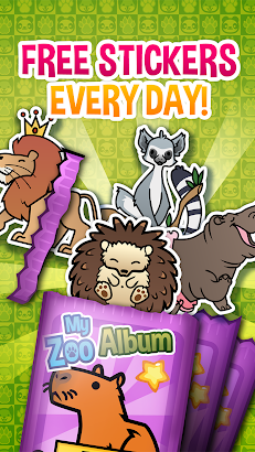 My Zoo Album - Collect And Trade Animal Stickers- screenshot thumbnail
