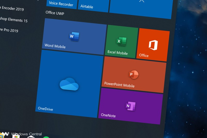 Improving the Microsoft Office Program experience in virtual