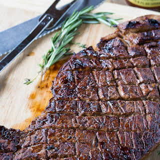 Grilled London Broil.