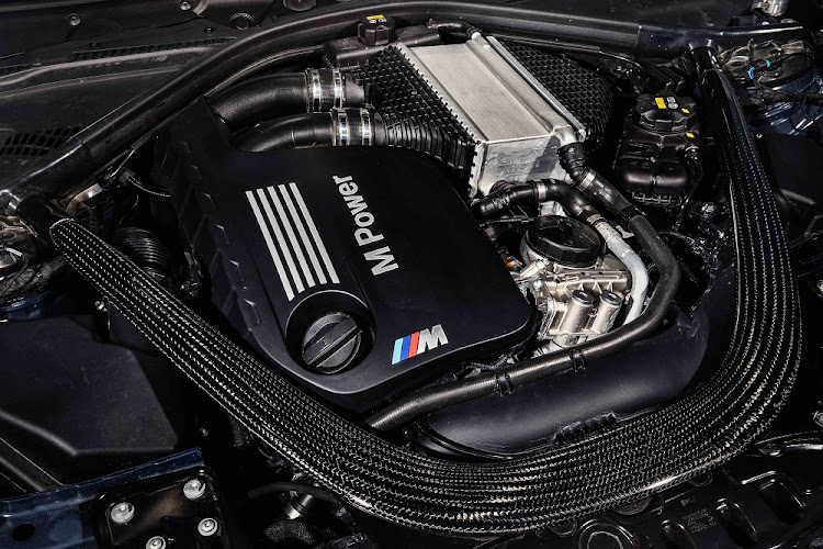 The twin-turbo straight-six has been upgraded to deliver 338kW and 600Nm. Picture: BMW